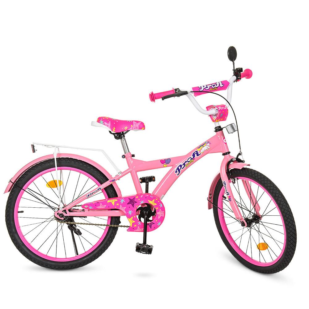 Велосипед детский PROF1 20 дюймов T2061 Original girl Гарантия качества Быстрая доставка