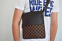 Мужская сумка Louis Vuitton(луи витон) через плечо, дроп и опт, брендовая, фото 1
