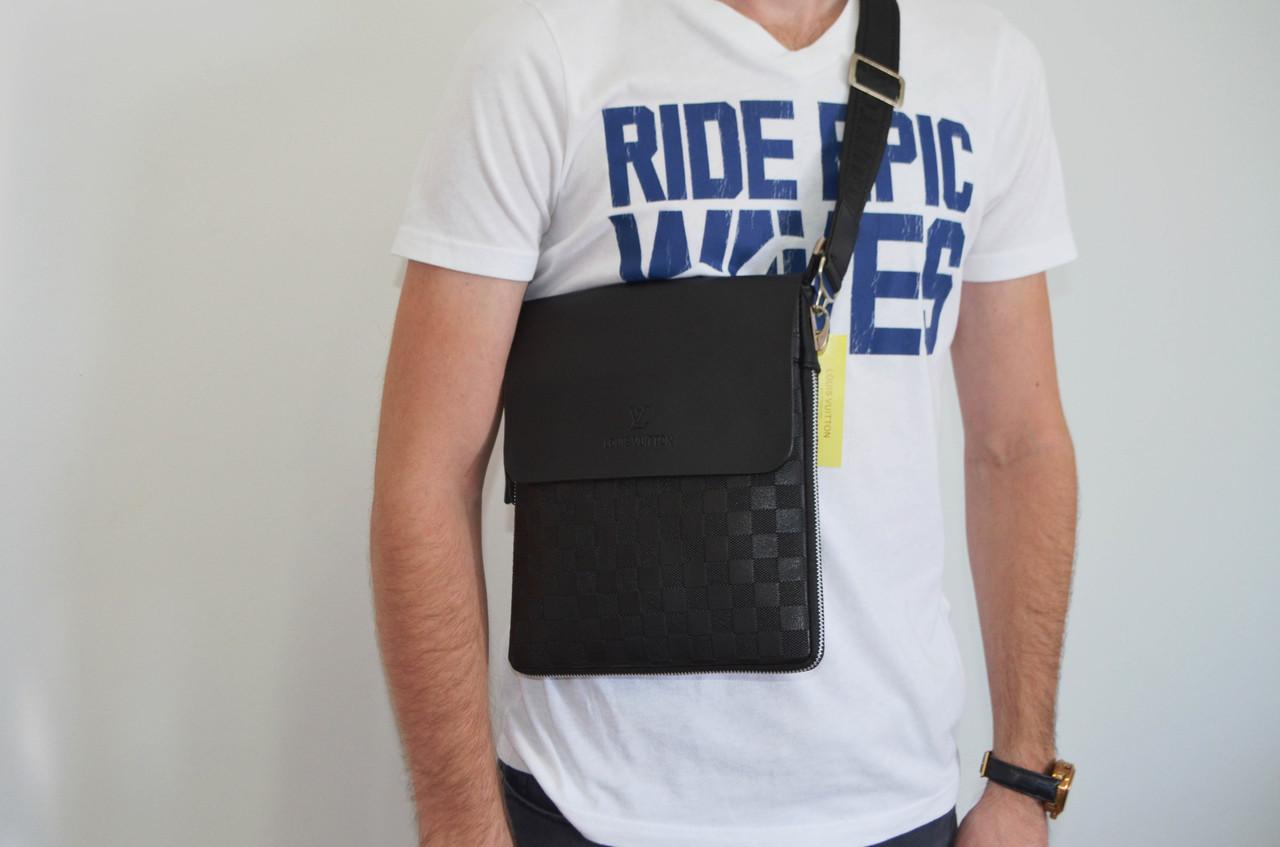 Мужская сумка Louis Vuitton через плечо, дроп и опт, брендовая