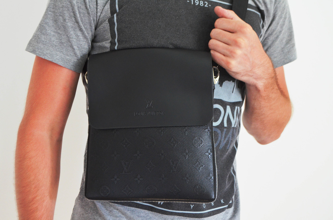 Чоловіча сумка Louis Vuitton (луи вітон) через плече, дроп і опт, брендова, планшетка, барсетка