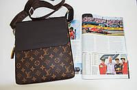 Чоловіча сумка Louis Vuitton через плече, дроп і опт, брендова, планшетка, барсетка, фото 1