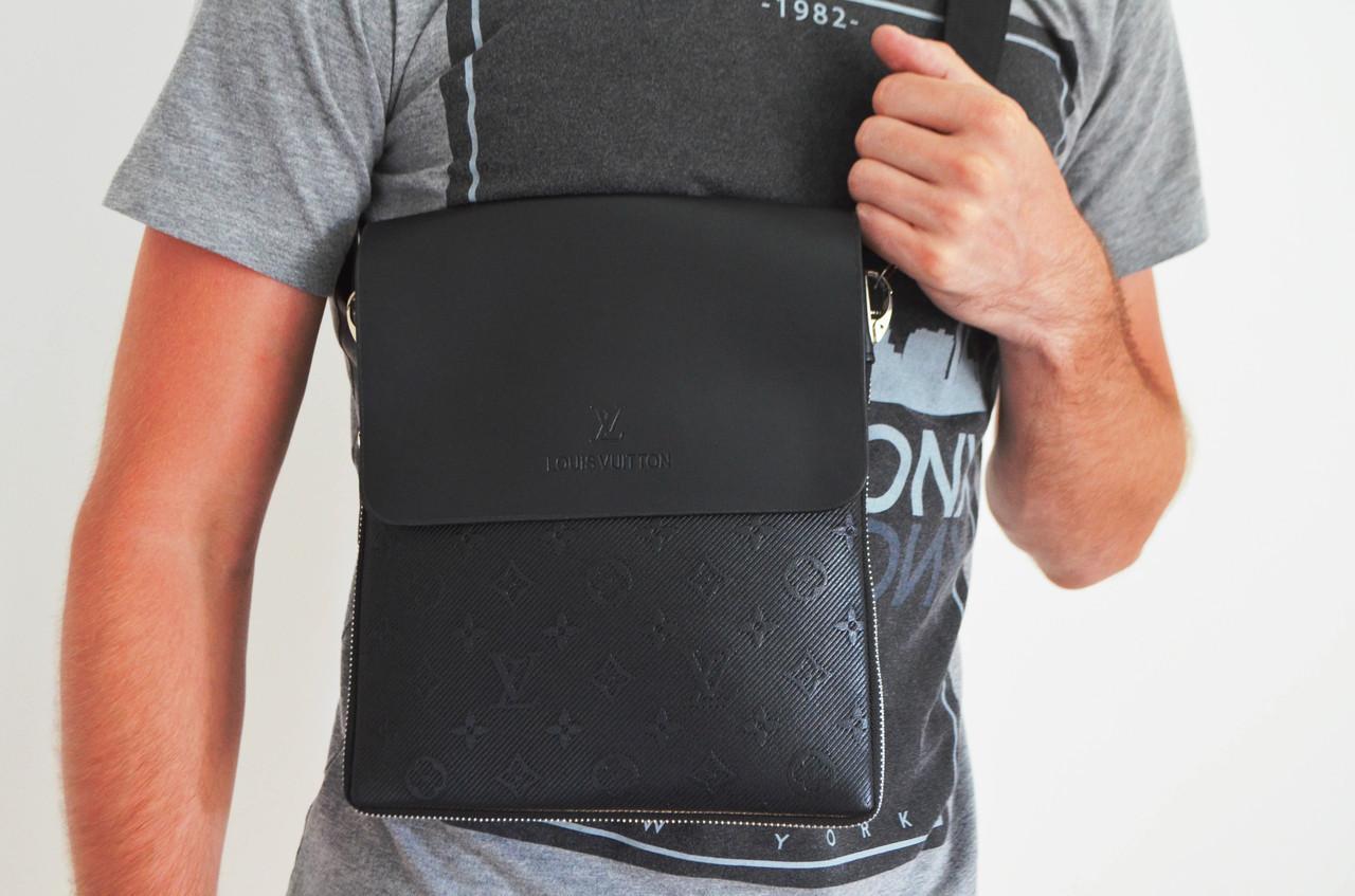 Мужская сумка Louis Vuitton(луи витон) через плечо оптом