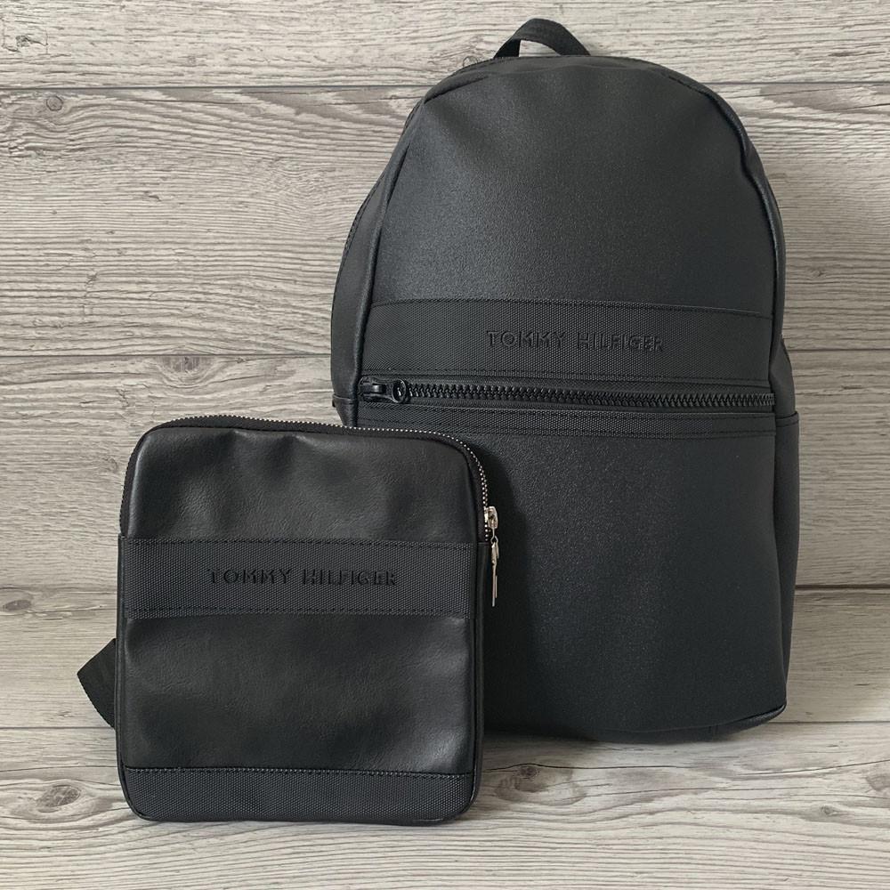 Набор рюкзак Tommy Hilfiger(портфель) и барсетка Tommy Hilfiger(сумка через плечо), Без предоплат