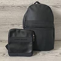 Набор рюкзак Tommy Hilfiger(портфель) и барсетка Tommy Hilfiger(сумка через плечо), Без предоплат, фото 1