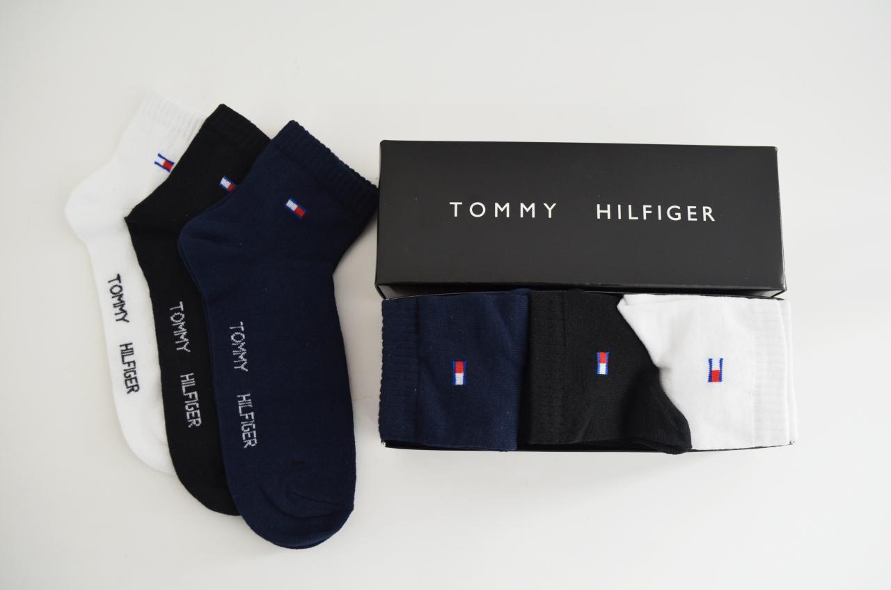 Брендовые носки Tommy Hilfiger, томми хилфигер, летние носки, носки на лето, комплект, набор