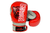 Боксерські рукавиці PowerPlay 3008 Червоні 8 унцій