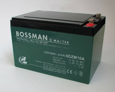 Аккумуляторы к электровелосипедам BOSSMAN 6DZM10, фото 2