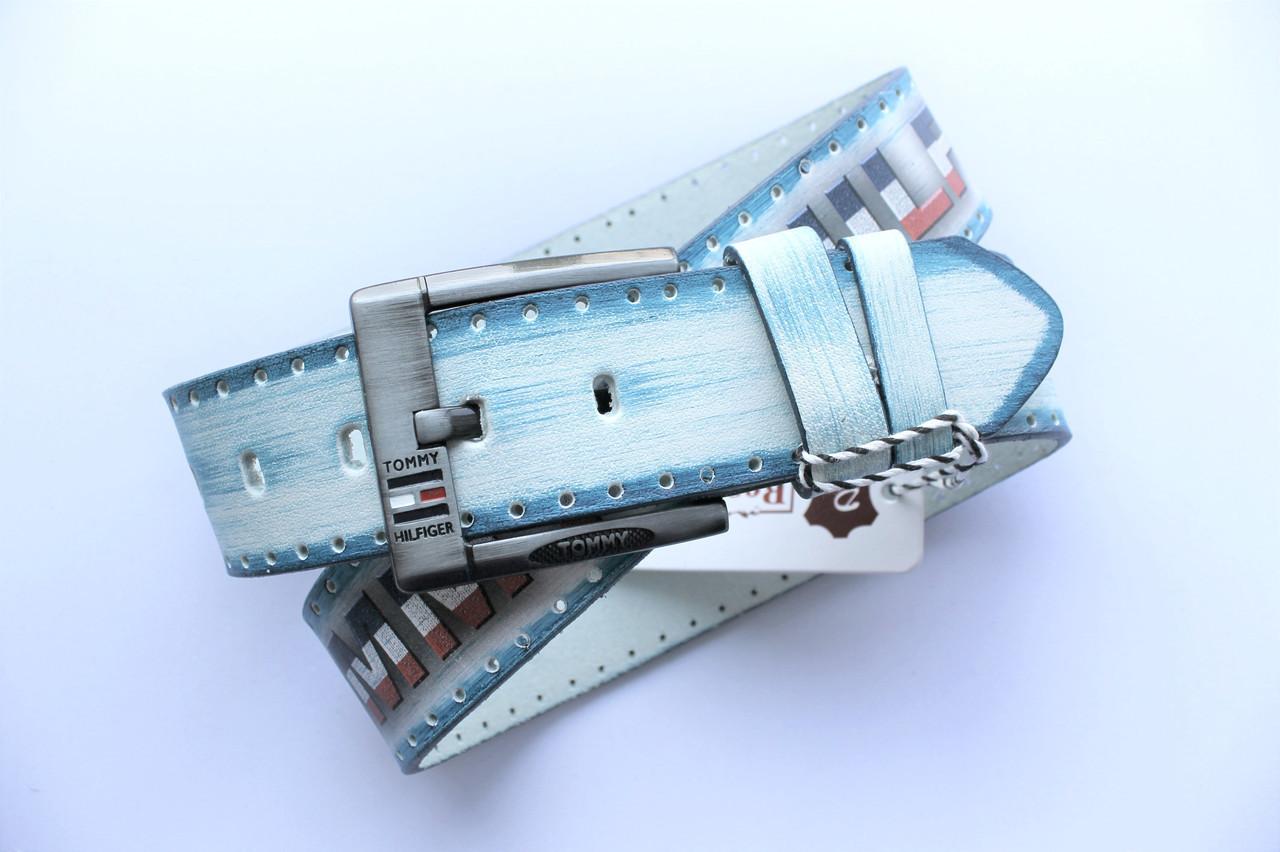 Кожаный ремень для джинсов Tommy Hilfiger