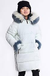 Детская зимняя куртка DT-8269-6 (36, Лайм-нефрит) 36