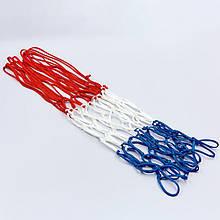 Сетка баскетбольная SPALDING (красно-бело-синий)
