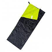 Спальный мешок Martes Pasto Black/Lime G01N