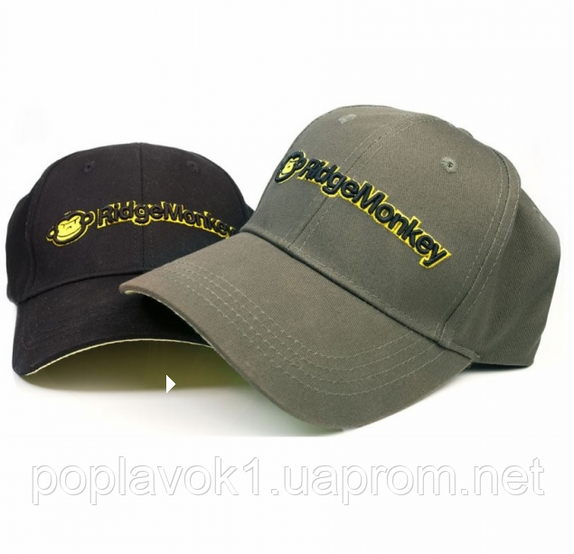 Кепка Ridge Monkey General Baseball Cap  (Черный)