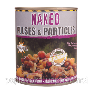Зерновий корм Dynamite Baits Frenzied Pulse PartiMix Naked (700г)