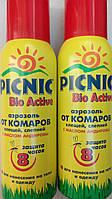 Picnic (Пикник) Bio Active-аэрозоль от комаров и клещей