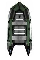 Лодка под мотор 15 л.с AquaStar С-360 RFD зеленая