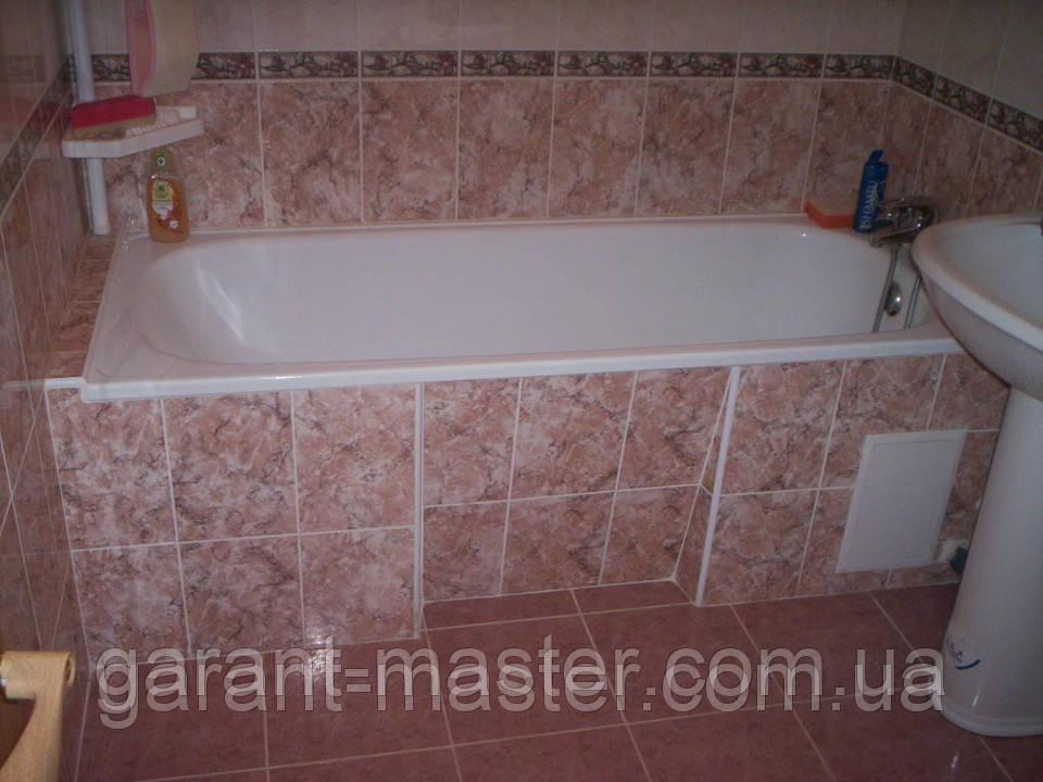 Установка ванны, монтаж ванны, демонтаж ванны в Донецке
