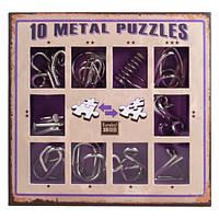 Набор головоломок Eureka 3D Puzzle 10 Metall Puzzles Violet (473359R)
