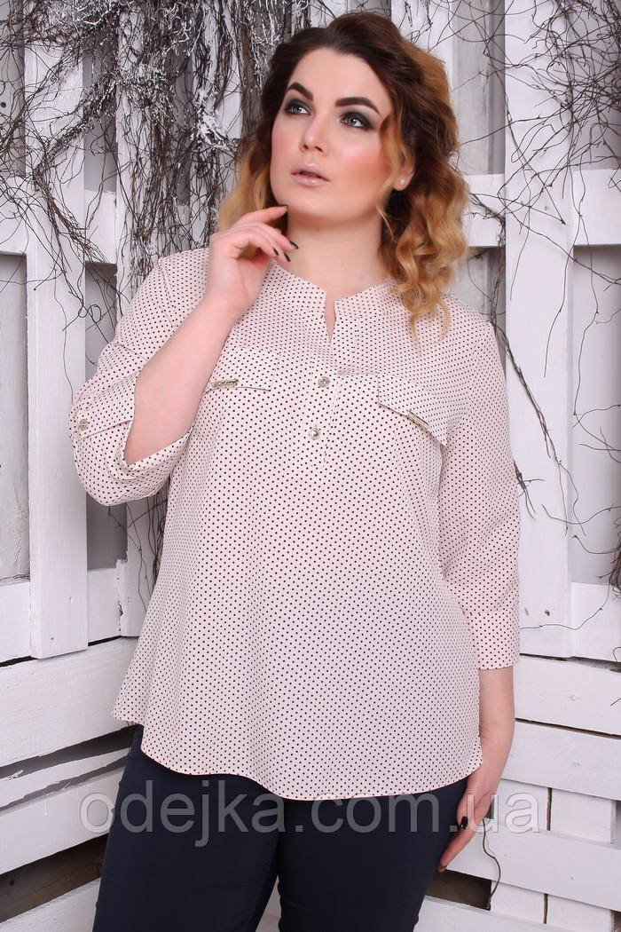 Блуза Виктория горох
