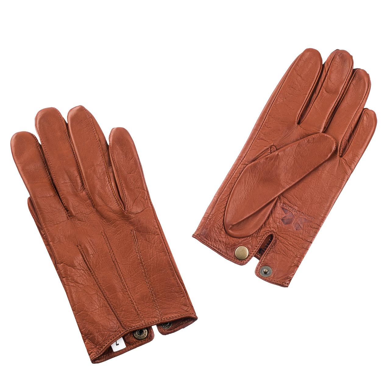 Перчатки The Monochrome 7 кожаные  Коричневые (SS_1868i)