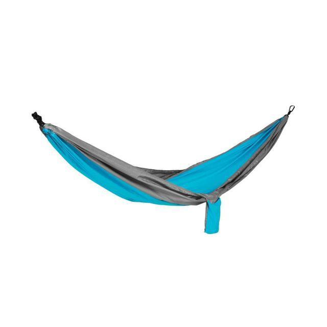 Гамак Spokey Cocoon 140х280 см Серо-голубой (s0347)