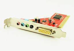 Звуковая карта PCI внутренняя 4CH 5.1