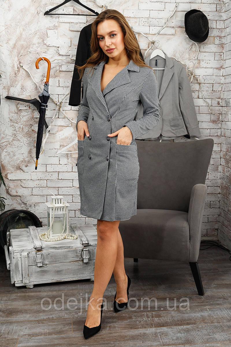 Платье пиджак лапки