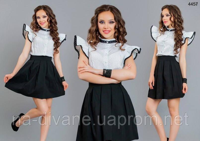 блузка белая с крылышками 1538 цин цена 240 грн купить в