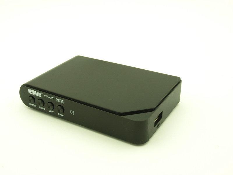 ТВ-тюнер OP-407 Operasky Т2 для цифрового ТВ DVB-Т2 (20181116V-930)
