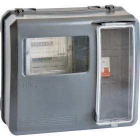 Ящик для 1-3 фазного лічильника DOT3.1, випуклий 9 модулів IP54