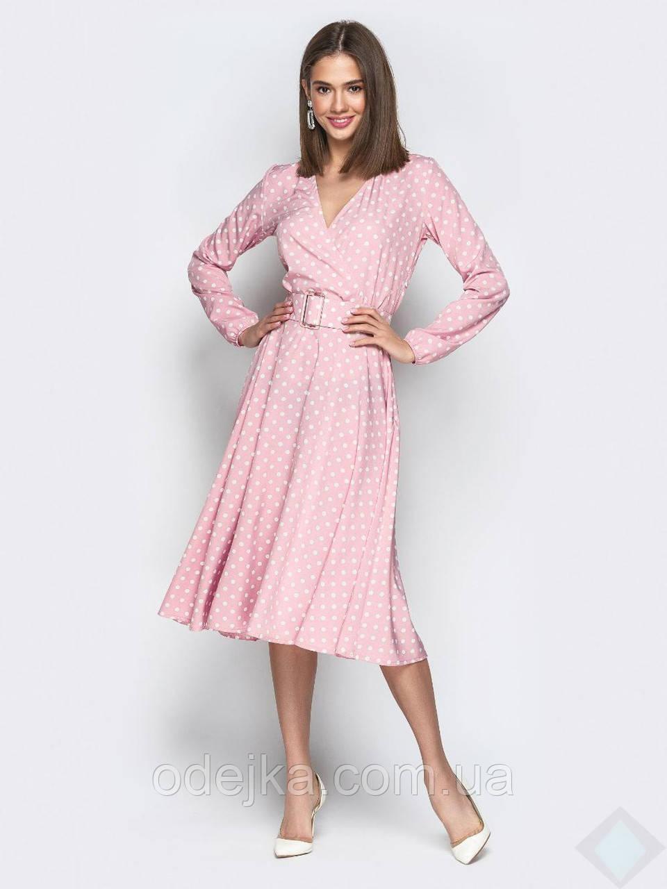 Платье Айсель горох