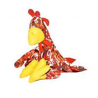 Игрушка мягкая Петух Гога красный (43803)