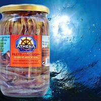 Анчоусы в оливковом масле Athena Италия 720г