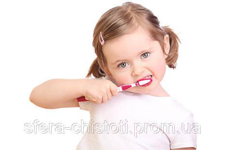 детские зубные пасты и щетки
