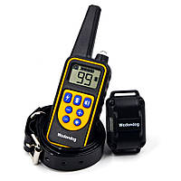 Ошейник электронный 800м. водонепроницаемый для дрессировки собак аккумулятор от USB Р-880