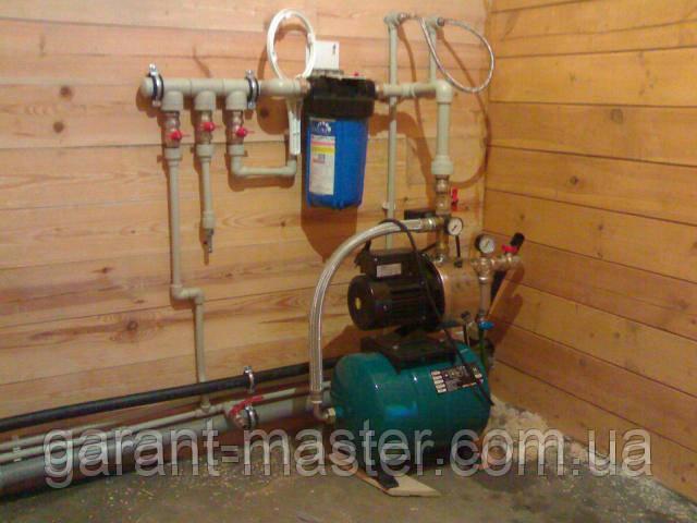 Монтаж, замена труб водопровода в Чернигове