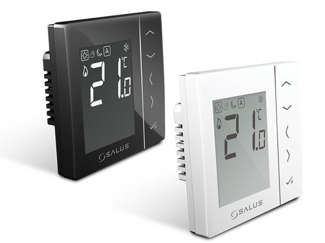 Salus VS35W - добовий цифровий термостат, білий