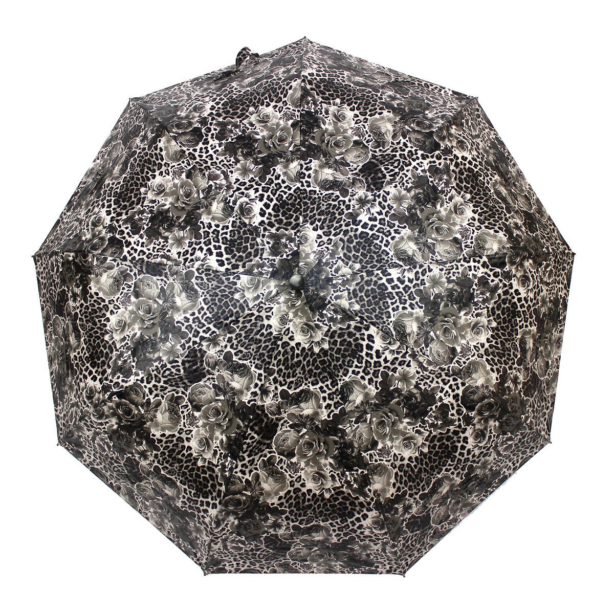 Зонт женский автомат Parachase MR-1717-2 Серый
