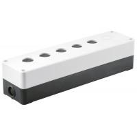 Корпус КП106 для кнопок 6мест белый