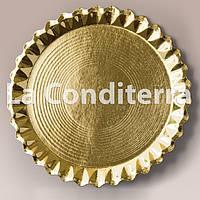 Тарелки золотые, металлизированные Salaet VENUS (d=28 см)