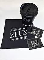 Бумажные двухслойные стаканчики с вашим логотипом (от 1000 шт.), фото 1