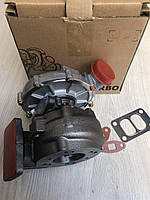 Турбокомпрессор (турбина) ТКР К27-115-02 Чешка (двигатель КАМАЗ 740.13, 740.14 автомобиль КАМАЗ-ЕВРО 1)Левая