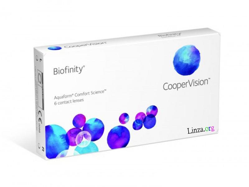 Контактна лінза Biofinity Toric (1 місяць)