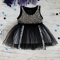 Летнее платье-туника на девочку Breeze 130. Размеры 104 см, 110 см, 116 см, 128 см, 134 см