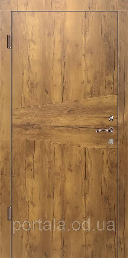 """Входная дверь """"Портала"""" серия Трио ― модель Лофт (Три контура)"""