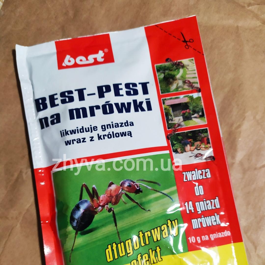 Інсектицид препарат від мурах Best-Pest 140г