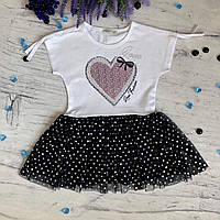 Летнее платье на девочку Breeze 131. Размеры 116 см, 128 см, 134 см, 140 см, 152 см, фото 1