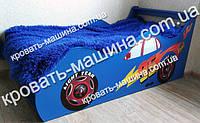 Кровать машина Тачки синяя