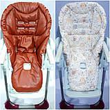 Двухсторонний чехол на стульчик для кормления Peg Perego Tatamia, фото 6