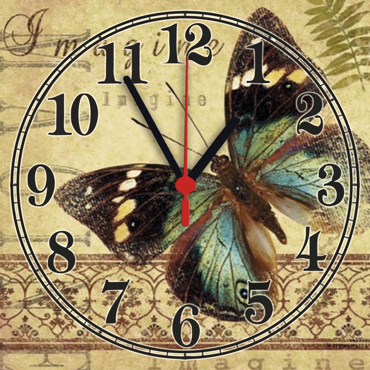 Часы настенные стеклянные Т-Ок 003 S-3012