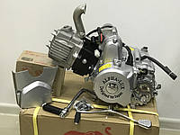Двигатель мопед  Мустанг 49/110 см3 механика  Аlpha-Lux мотор Акция, фото 1